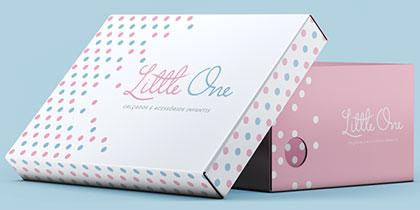criação de marcas em Curitiba - little one