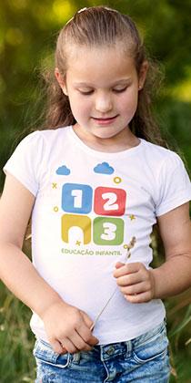 criação de marcas em Curitiba - 123 educação infantil