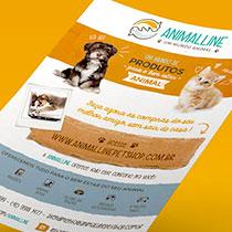 criação de marcas em Curitiba - animalline